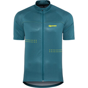 Gonso Mocco Maillot de cyclisme Homme, majolica blue